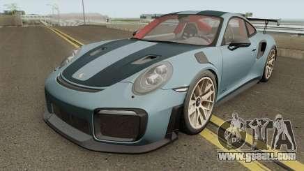Porsche 911 GT2 RS 2018 for GTA San Andreas