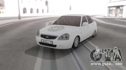 Lada Priora Vinyl for GTA San Andreas