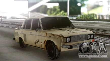 VAZ 2106 Tramp Rusty for GTA San Andreas