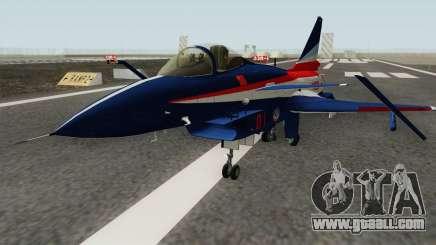 Chengdu J-10 ADT for GTA San Andreas