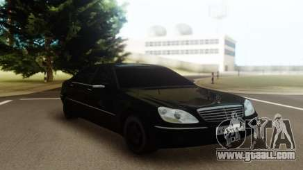 Mercedes-Benz W220 S600 for GTA San Andreas