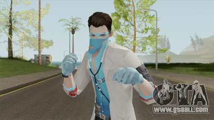 ROS Mad Doctor Skin for GTA San Andreas