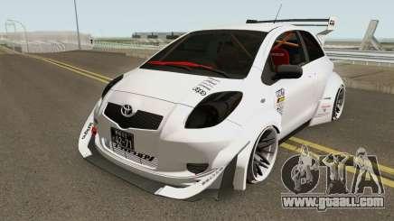 Toyota Yaris Burnok Speed for GTA San Andreas
