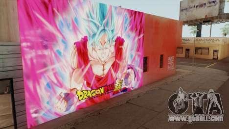 DBS Super Saiyan Blue Goku for GTA San Andreas