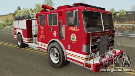 MTL Firetruck GTA V for GTA San Andreas