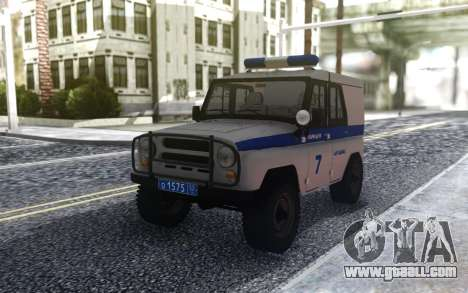 UAZ 31512 Police for GTA San Andreas