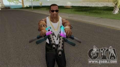 SMG GTA V for GTA San Andreas