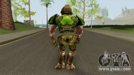 Doomguy - Quake III Arena for GTA San Andreas