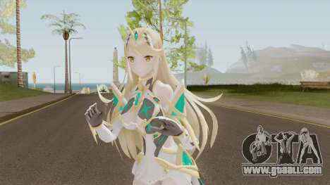 Xenoblade Chronicles 2 Myrtha V3 for GTA San Andreas
