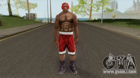 CJ Boxing Outfit (Ped) for GTA San Andreas