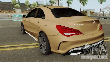 Mercedes Benz CLA 250 AMG for GTA San Andreas