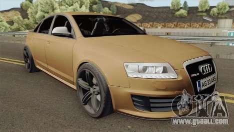 AUDI RS6 C6 ROMANIA for GTA San Andreas
