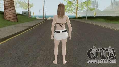 Hitomi Hot Getaway Costume V3 for GTA San Andreas