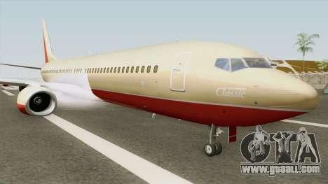 Boeing 737-800 Southwest Airlines (Desert Gold) for GTA San Andreas