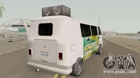 Volkswagen Kombi (Camper) TCGTABR for GTA San Andreas