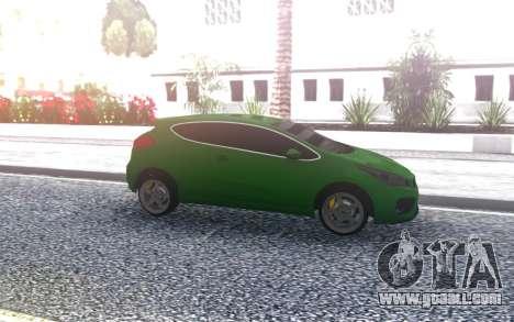 Kia Ceed 2014 for GTA San Andreas