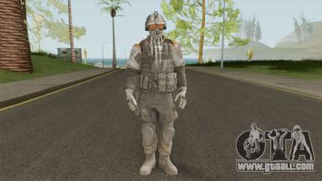 Elite 02 The Zulu Squad (Spec Ops: The Line) for GTA San Andreas