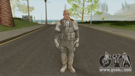 Officer The Zulu Squad (Spec Ops: The Line) for GTA San Andreas