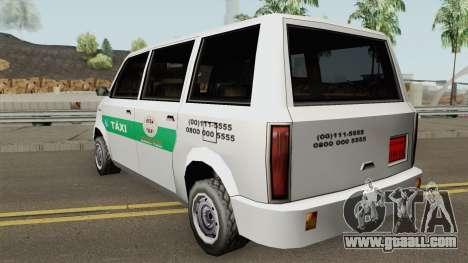 Cabbie Taxi Santos-SP (BH) for GTA San Andreas