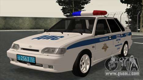 2115 ABOUT TRAFFIC POLICE for GTA San Andreas