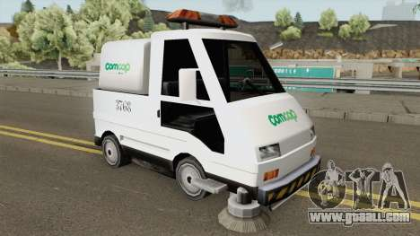 Sweeper Comcap Prefeitura De Flrianopolis for GTA San Andreas