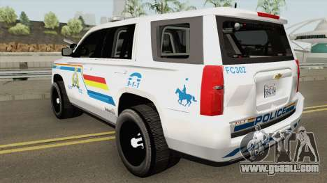 Chevrolet Tahoe San Andreas State Police RCMP for GTA San Andreas