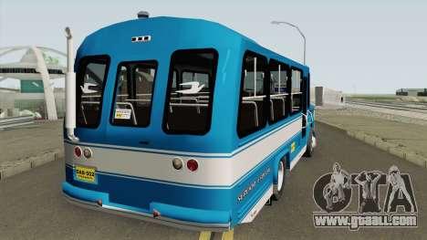 Dodge 300 Buseta for GTA San Andreas