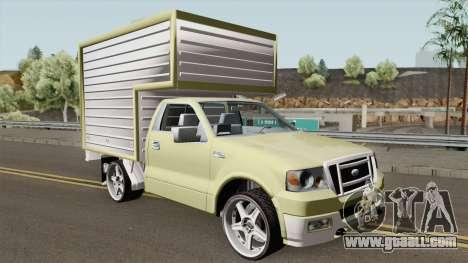 Ford F150 Van for GTA San Andreas
