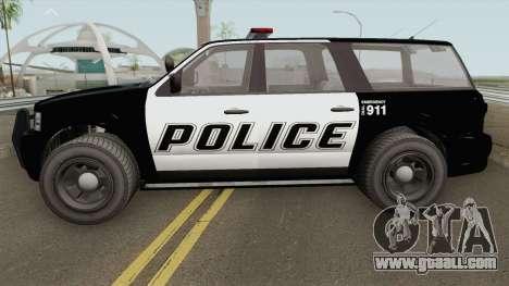 Vapid Prospector Police V2 GTA V for GTA San Andreas