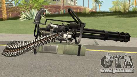 M-134 Minigun Black Ops Camo for GTA San Andreas