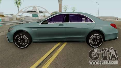 Mercedes-Benz S63 W222 2018 for GTA San Andreas