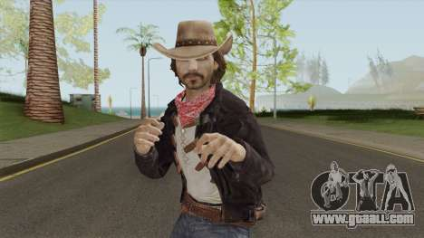 Thomas McCall From Call of Juarez for GTA San Andreas