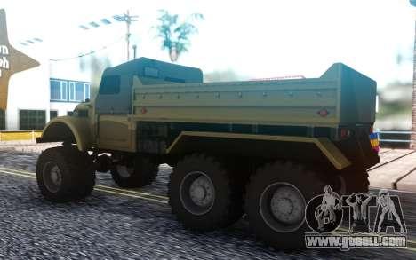 GAZ 69 6x6 for GTA San Andreas