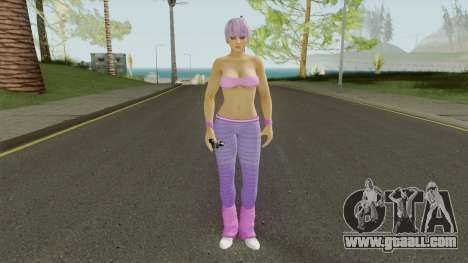 Ayane DOA5 Reskinned for GTA San Andreas