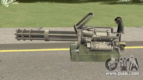 M-134 Minigun Default Design for GTA San Andreas