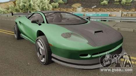 Jaguar XJ220 1992 (Penetrator Style) for GTA San Andreas