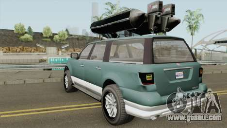 Vapid Prospector Normal V2 GTA V IVF for GTA San Andreas