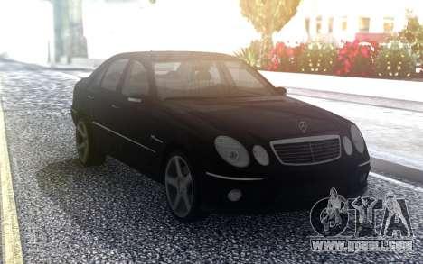 Mercedes-Benz E55 AMG W211 for GTA San Andreas