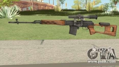 Rekoil SVD Dragunov for GTA San Andreas