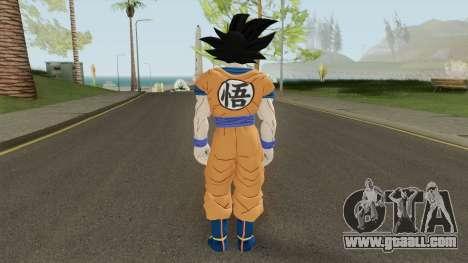 Goku Ultra Instinto for GTA San Andreas