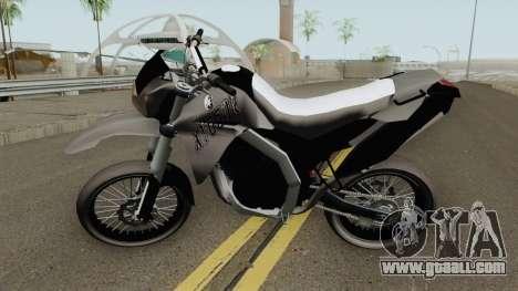 Yamaha XT660r Leve for GTA San Andreas