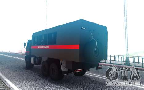 КavАЗ 45143 Demining Military police for GTA San Andreas