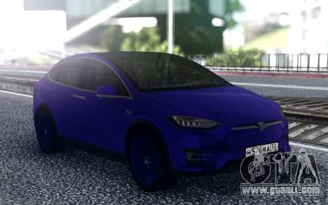Tesla Model X for GTA San Andreas