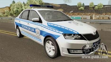 Skoda Rapid Policija for GTA San Andreas