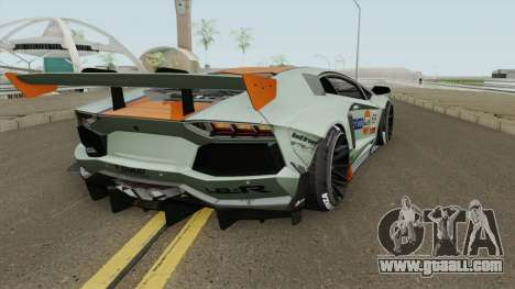Lamborghini Aventador LP700-4 Liberty Walk 2011 for GTA San Andreas