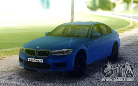 BMW M5 F90 for GTA San Andreas