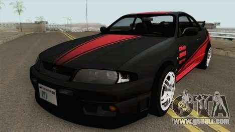 Nissan Skyline GT-R R33 1996 for GTA San Andreas