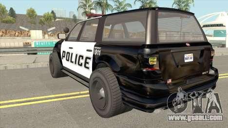 Vapid Prospector Police V2 GTA V IVF for GTA San Andreas