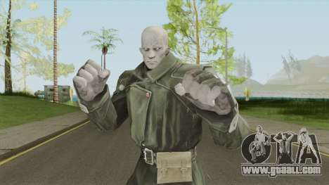 MR X (Resident Evil) for GTA San Andreas