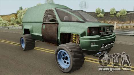 Declasse Brutus Apocalypse GTA V for GTA San Andreas
